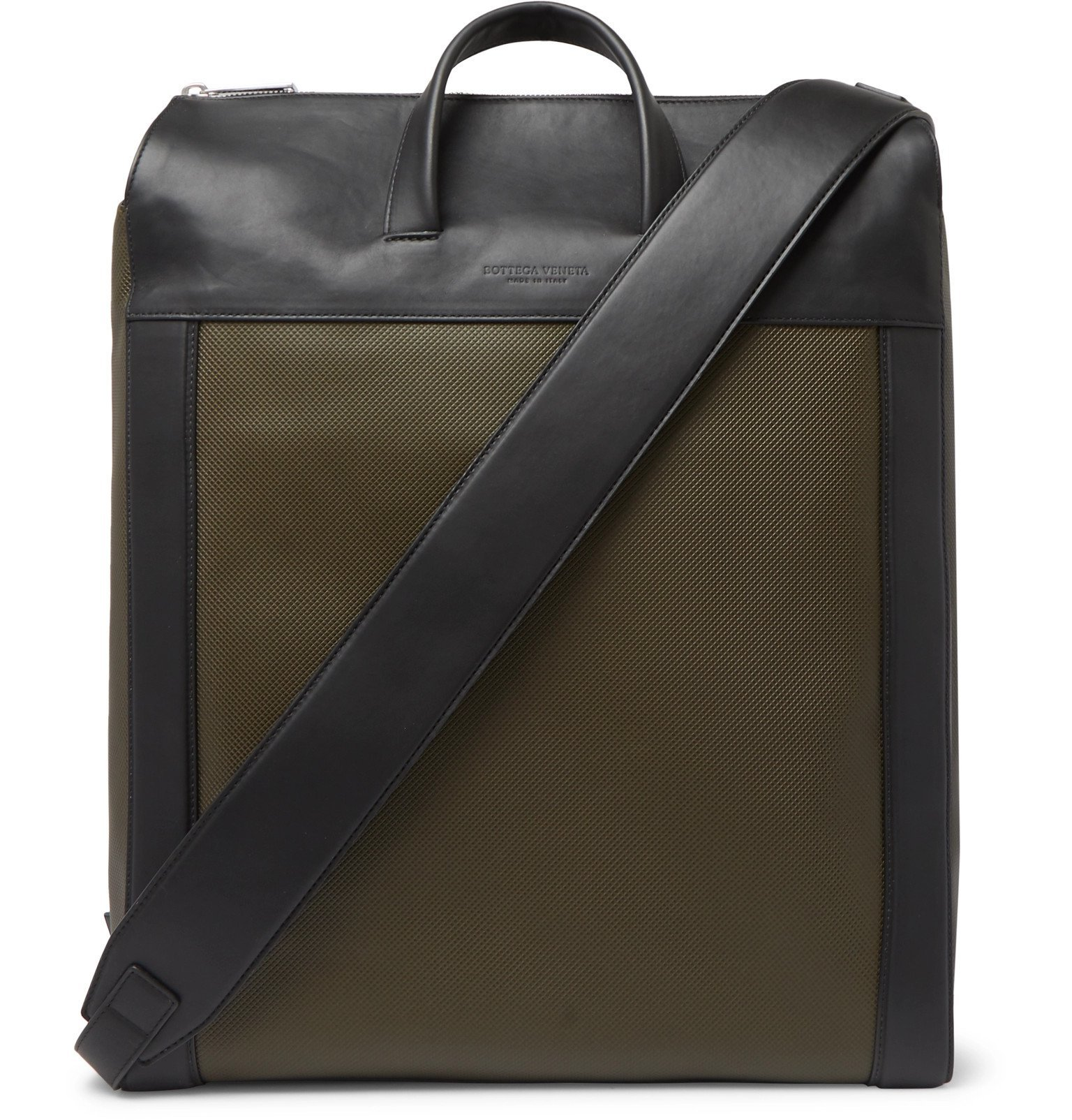 Photo: Bottega Veneta - Leather Tote Bag - Green