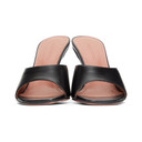 Amina Muaddi Black Lupita Slipper Heels