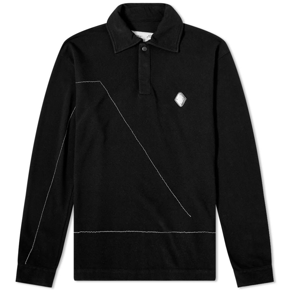 Photo: A-COLD-WALL* Long Sleeve Rhombus Logo Polo