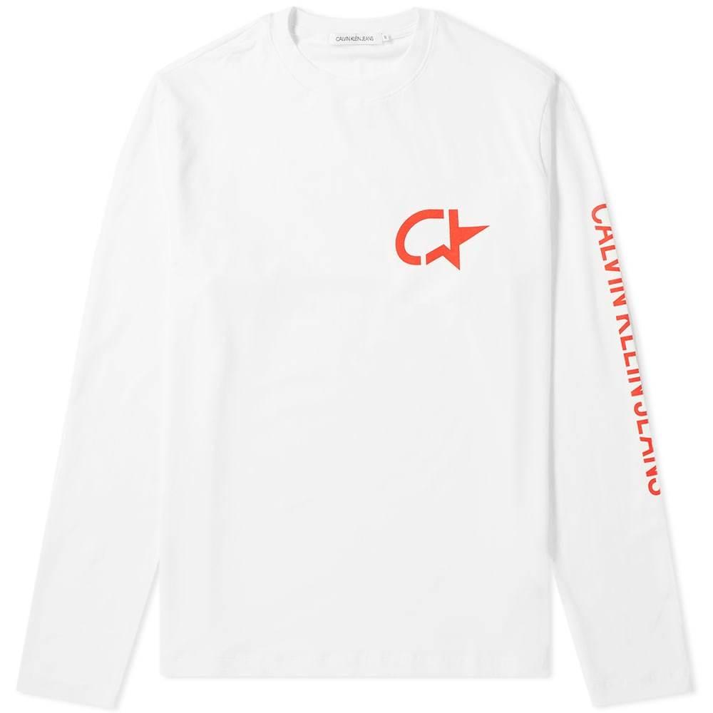 Photo: Calvin Klein Long Sleeve Modernist Star Print Tee