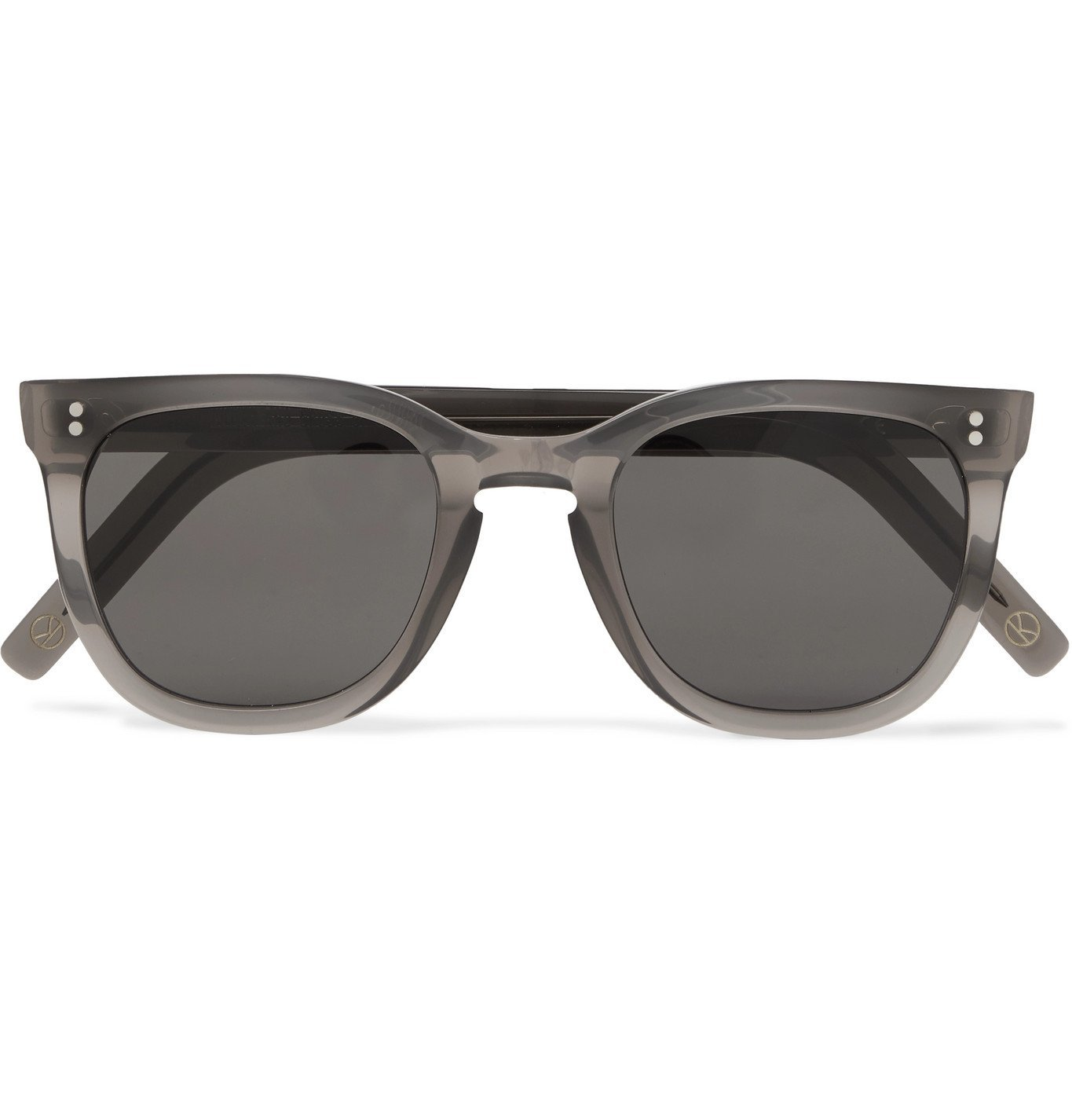 Photo: Kingsman - Cutler and Gross D-Frame Acetate Sunglasses - Gray