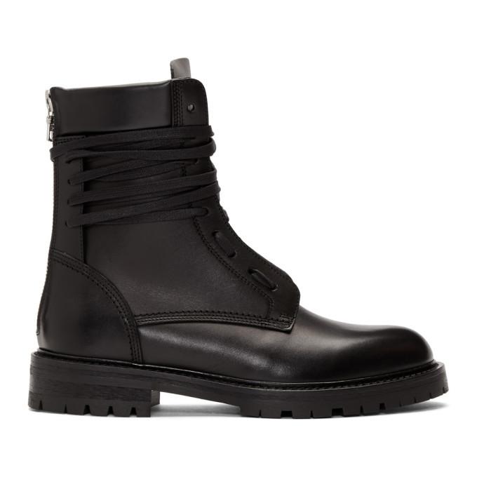Photo: Amiri Black Combat Boots