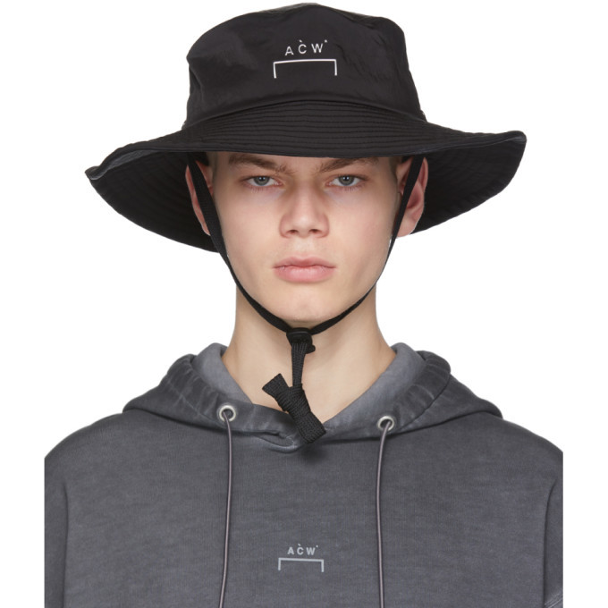 Photo: A-Cold-Wall* Black Bucket Hat