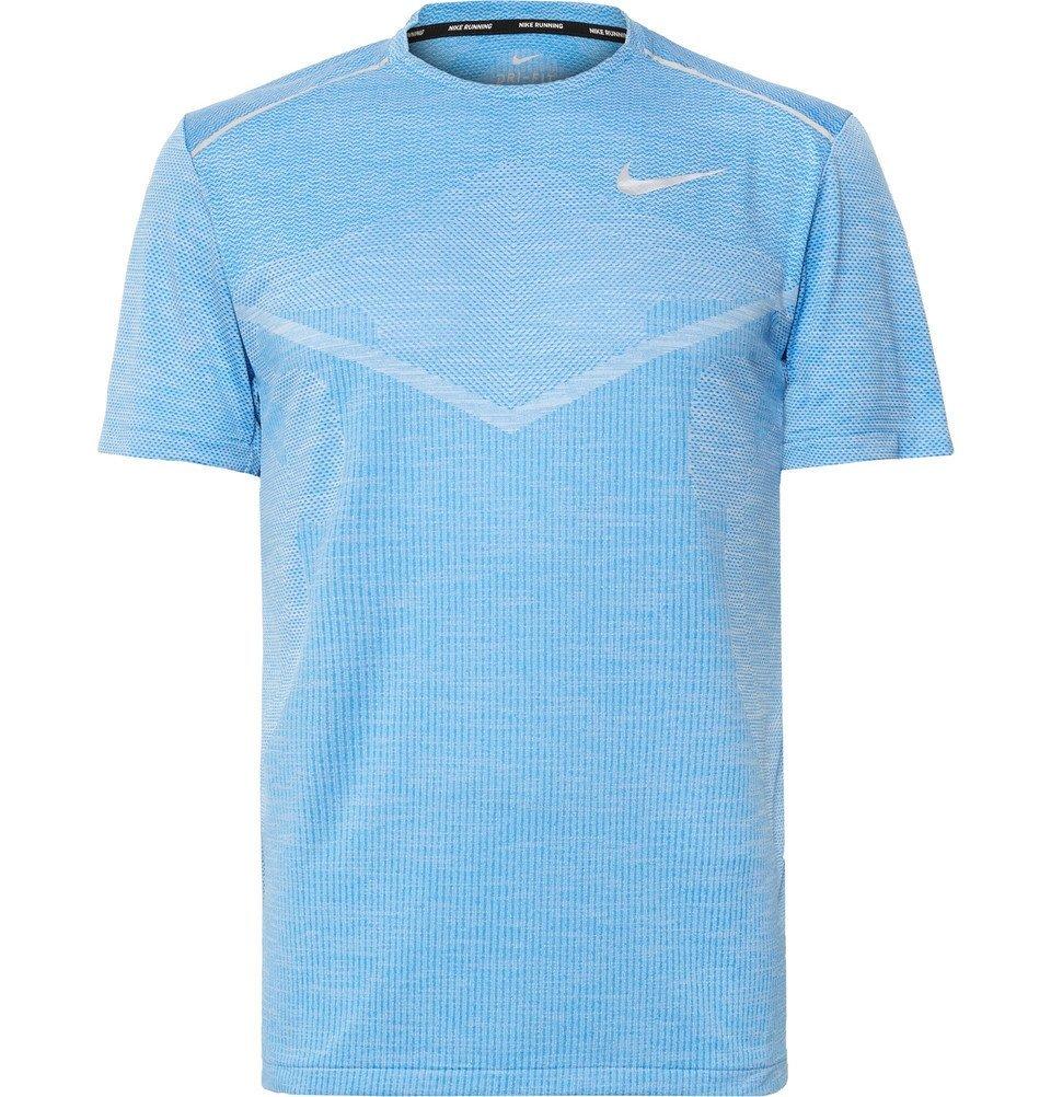Photo: Nike Running - Ultra TechKnit Running T-Shirt - Blue