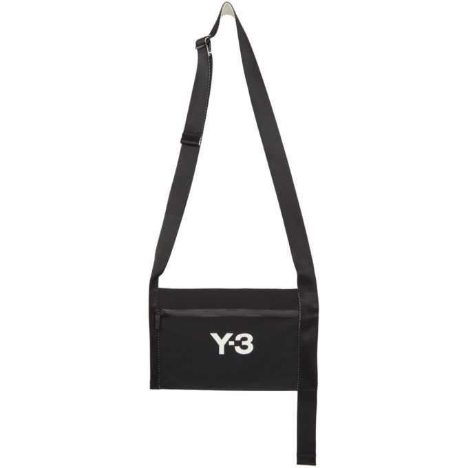 Photo: Y-3 Black CH3 Sacoche Messenger Bag