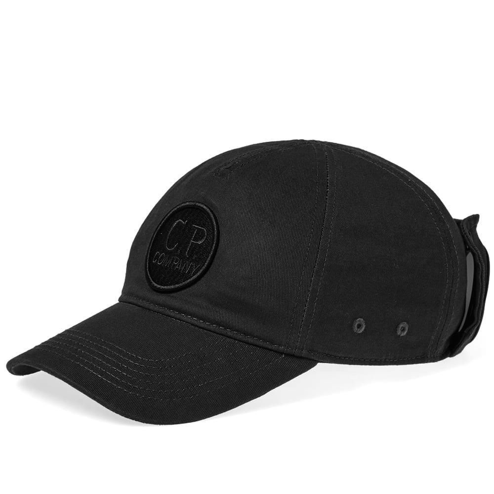C.P. Company Goggle Baseball Camp Cap Black