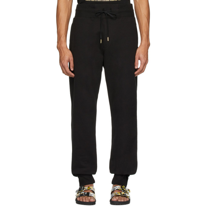 Photo: Versace Jeans Couture Black and Gold Icon Lounge Pants