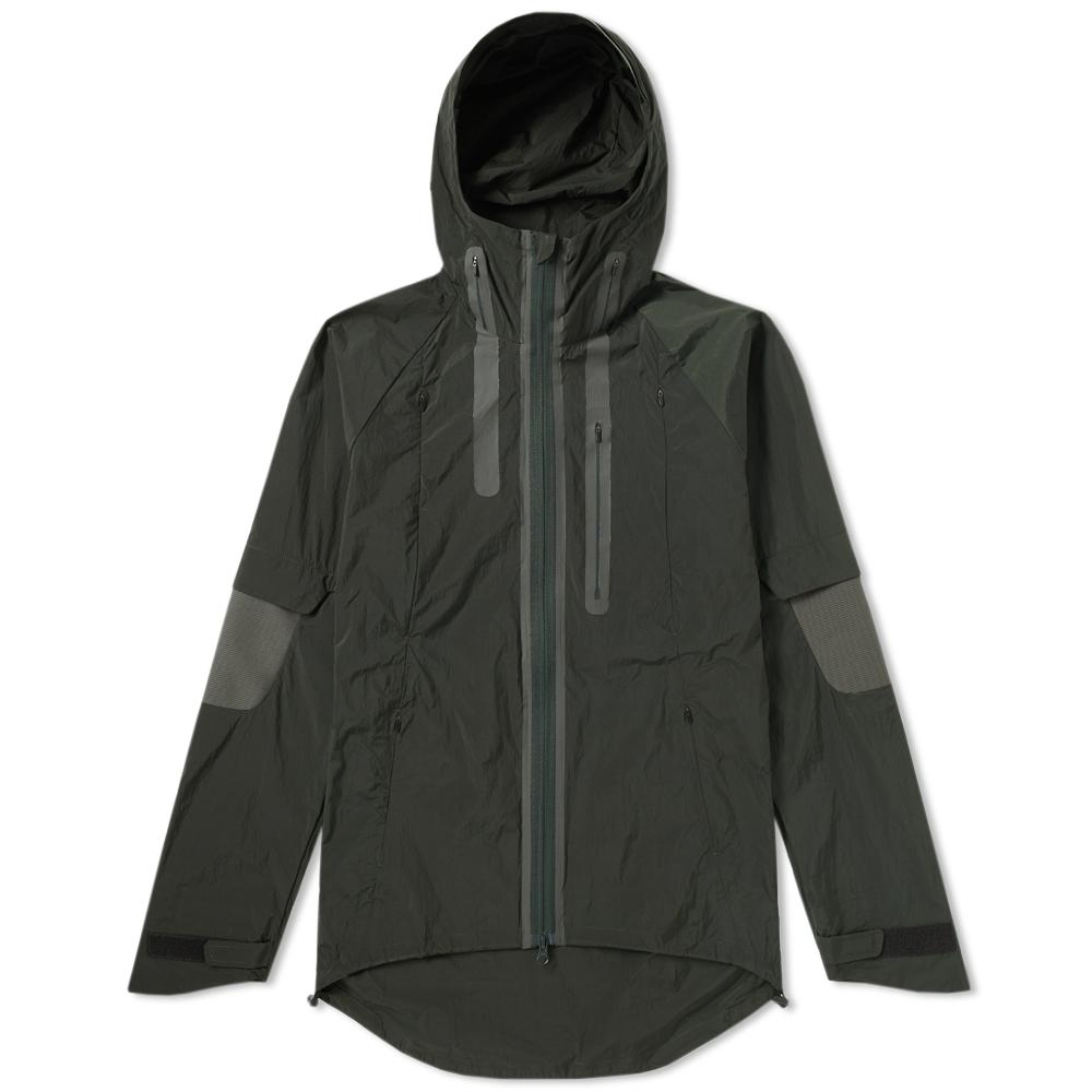 Photo: Y-3 Nylon Rib Hooded Jacket