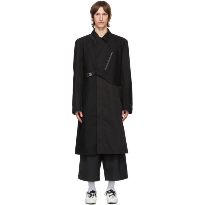 Photo: Y-3 Black Wool CH1 Coat