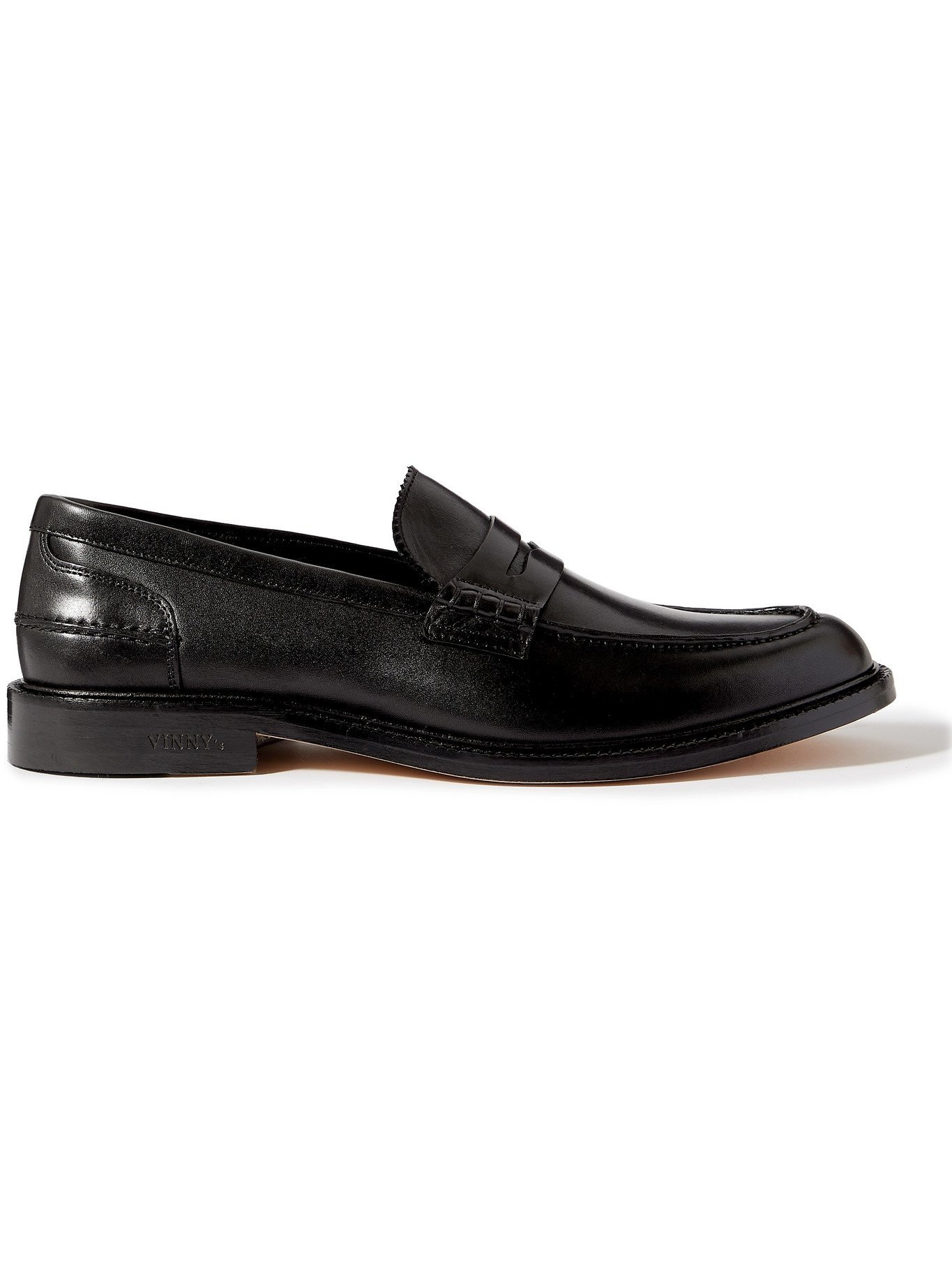 Photo: VINNY'S - Townee Leather Penny Loafers - Black - 41