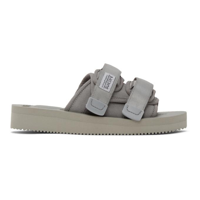 Photo: Suicoke Grey Moto-VS Sandals