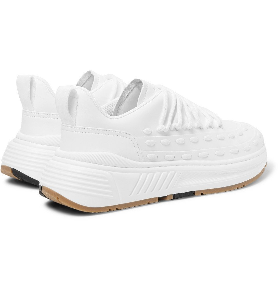 Bottega Veneta - Speedster Leather Sneakers - White