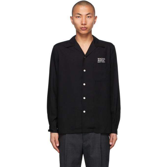 Photo: WACKO MARIA Black 50s Type-3 Shirt