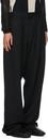GmbH Black Wool Tarek Trousers