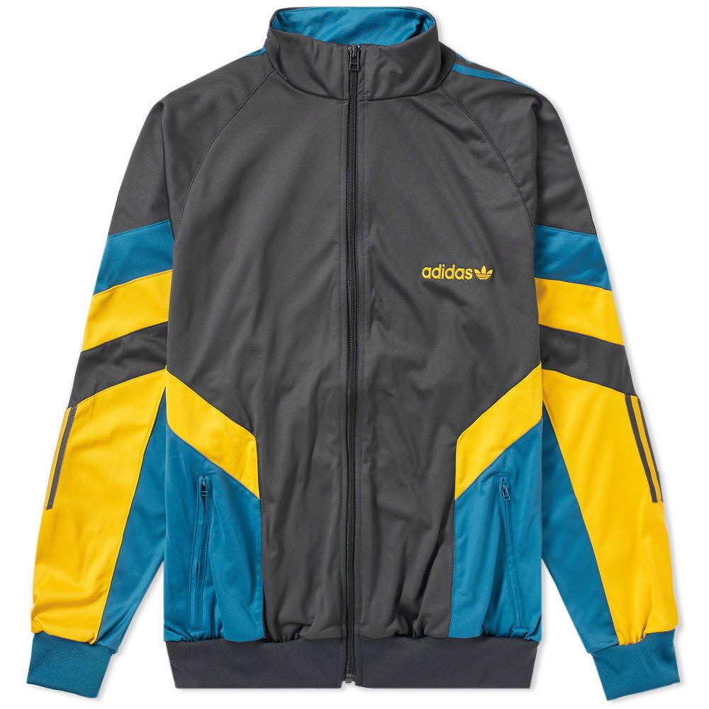 Adidas Aloxe Track Top Yellow