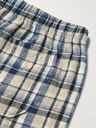 ACNE STUDIOS - Logo-Appliquéd Bleached Checked Cotton-Flannel Shorts - Multi