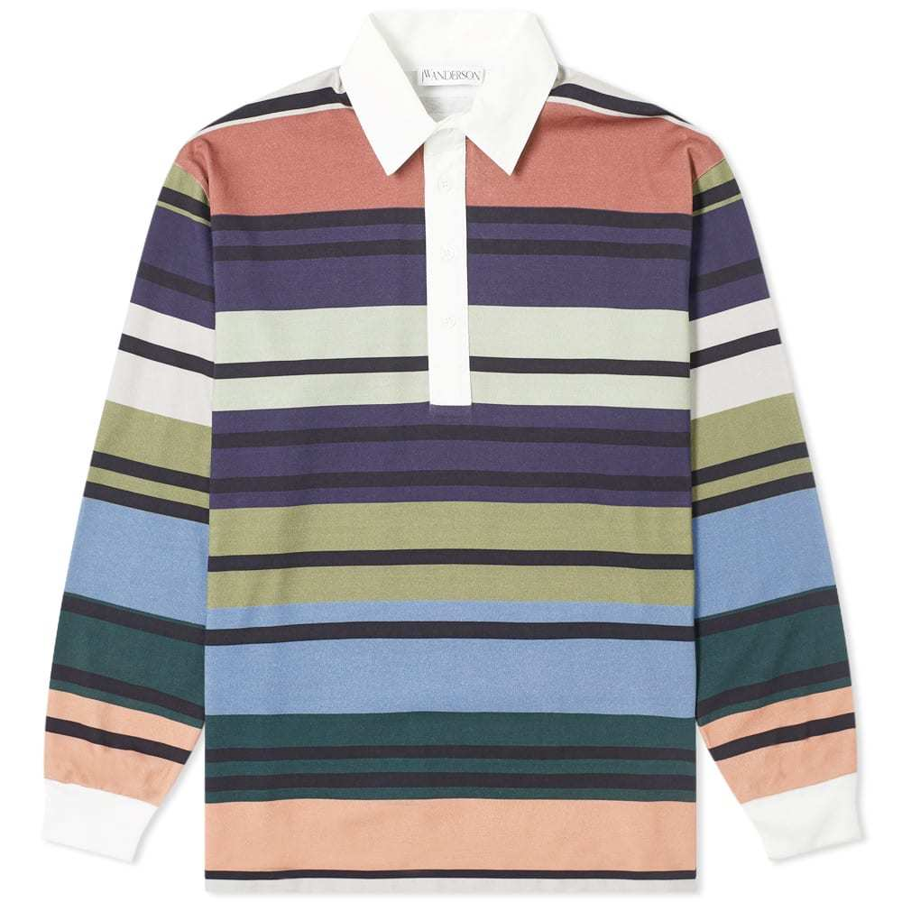 Photo: JW Anderson Striped Rugby Shirt Multi