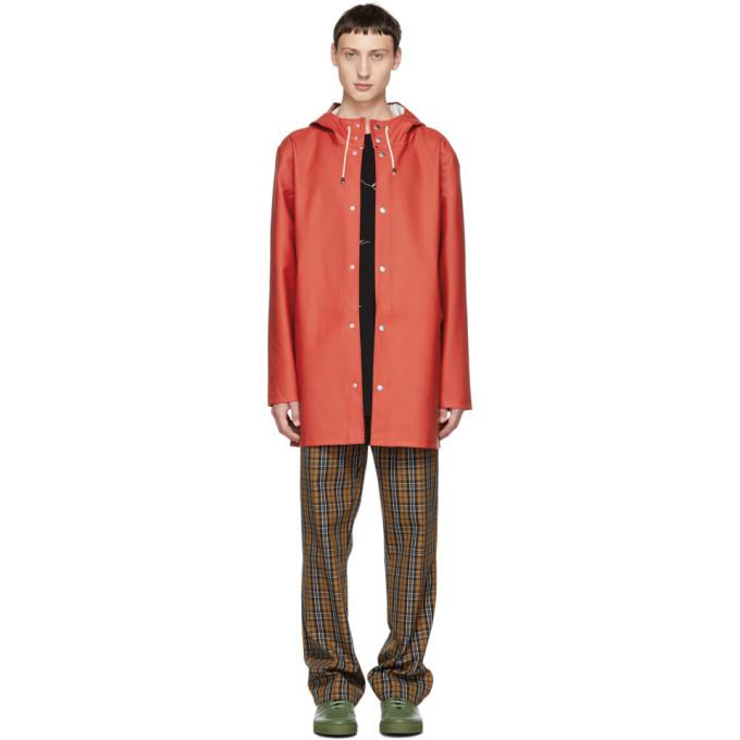 Photo: Stutterheim Red Stockholm Raincoat