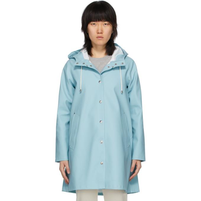 Photo: Stutterheim Blue Mosebacke Raincoat