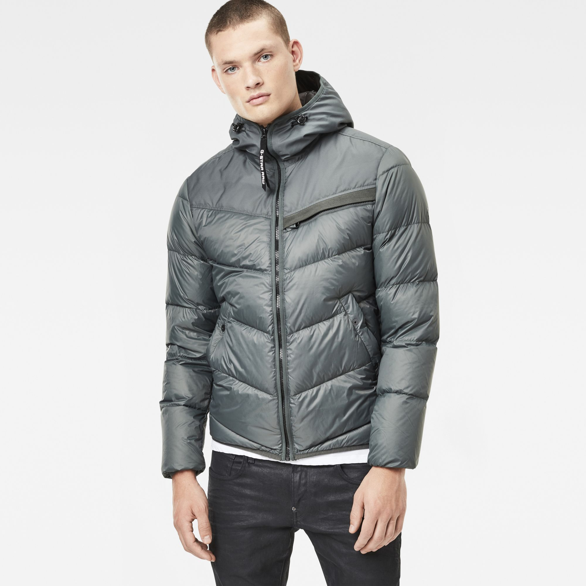 Photo: Attacc Quilted Hooded Down Jacket