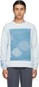 MCQ Blue Oversized Landscape Sweater
