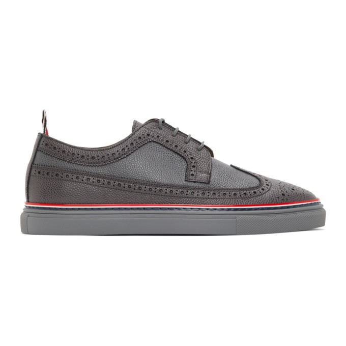 Photo: Thom Browne Grey Cupsole Longwing Brogues
