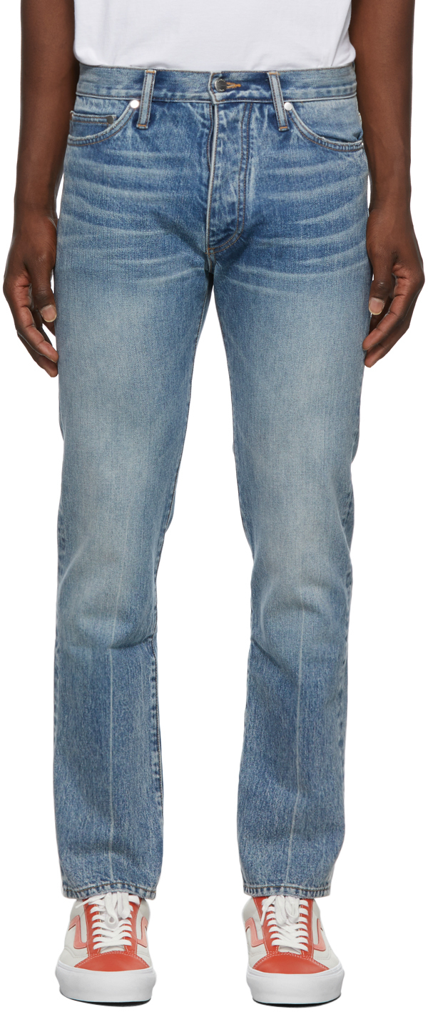Photo: Rhude Classic Fit Jeans