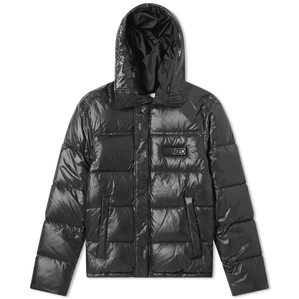 Photo: Kenzo Hooded Nylon Down Jacket