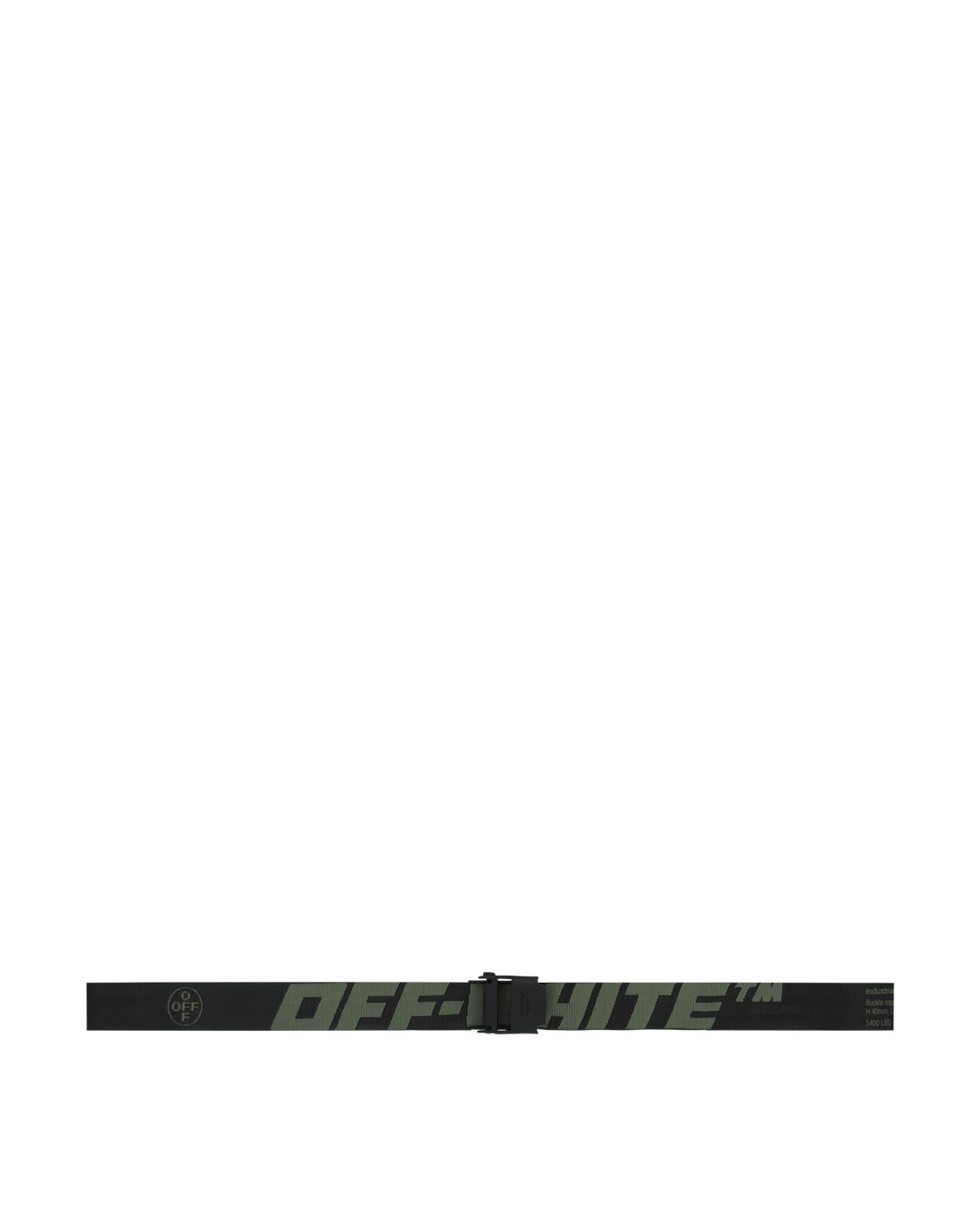 Photo: Off White 2.0 Industrial Belt Hedge Green