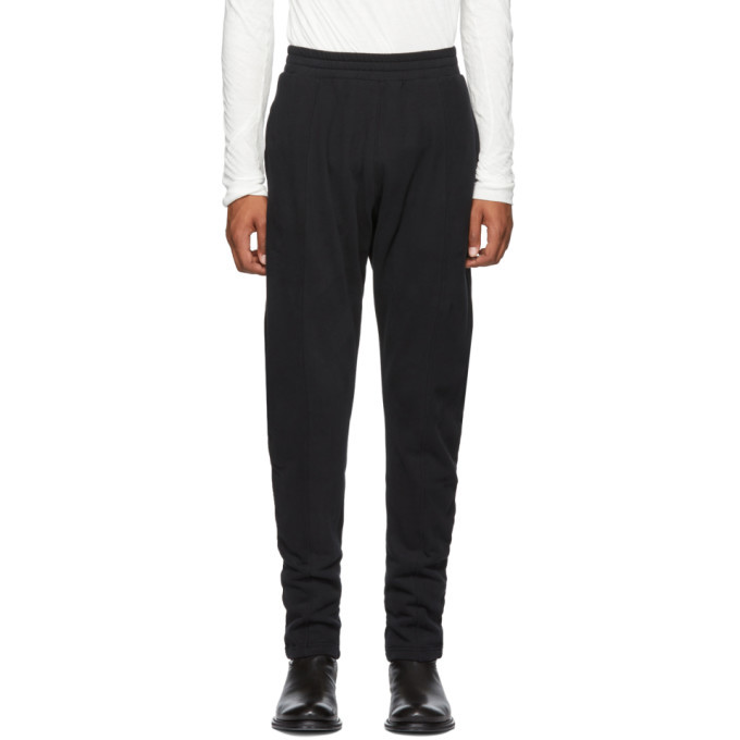 Photo: Ann Demeulemeester Black Tapered Grimm Lounge Pants