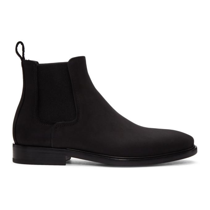Photo: Lanvin Black Leather Chelsea Boots