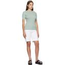 3.1 Phillip Lim Green Picot Stitch T-Shirt