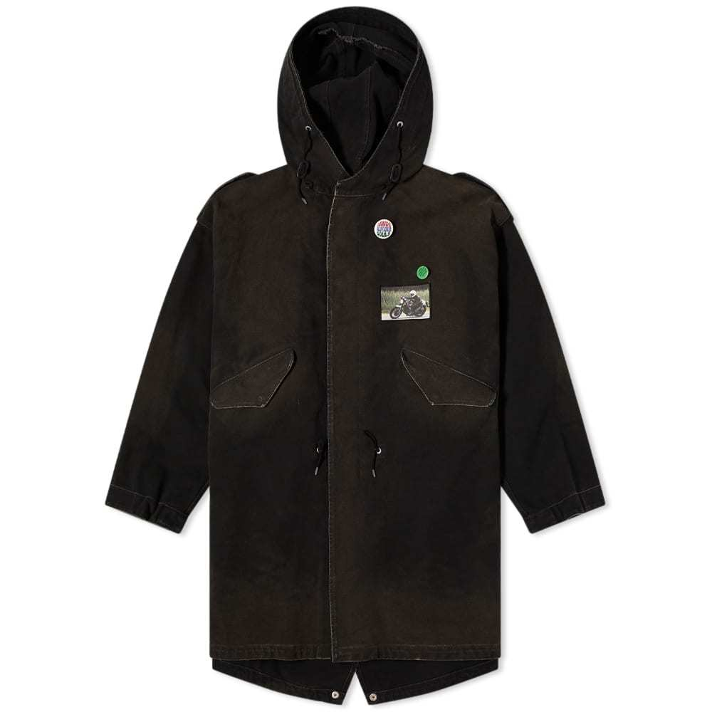 Photo: Raf Simons Picture Patches Parka