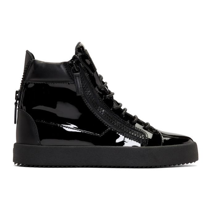 Photo: Giuseppe Zanotti Black May London High-Top Sneakers