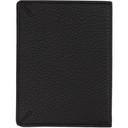 Giorgio Armani Black Leather Passport Holder