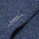 Sunspel - Mélange Organic Cotton-Blend Socks - Men - Blue