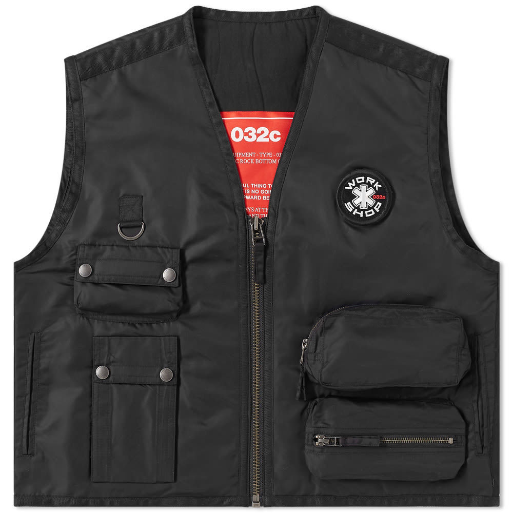 Photo: 032c Embroidered Patch Vest