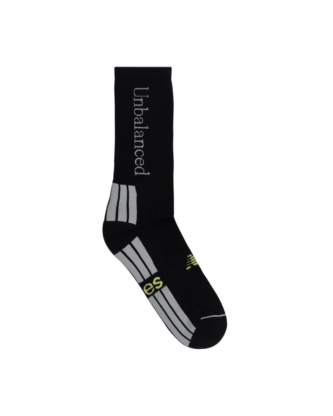 Photo: Aries Unbalanced Socks Black