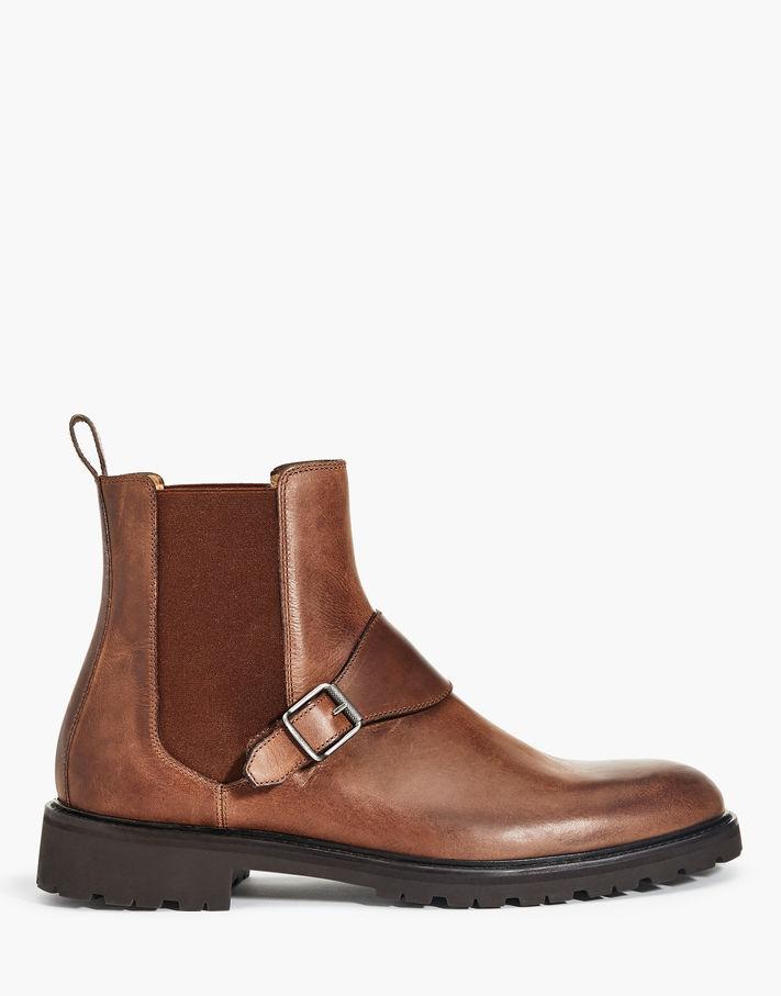 Belstaff Plaistow Boots Brown