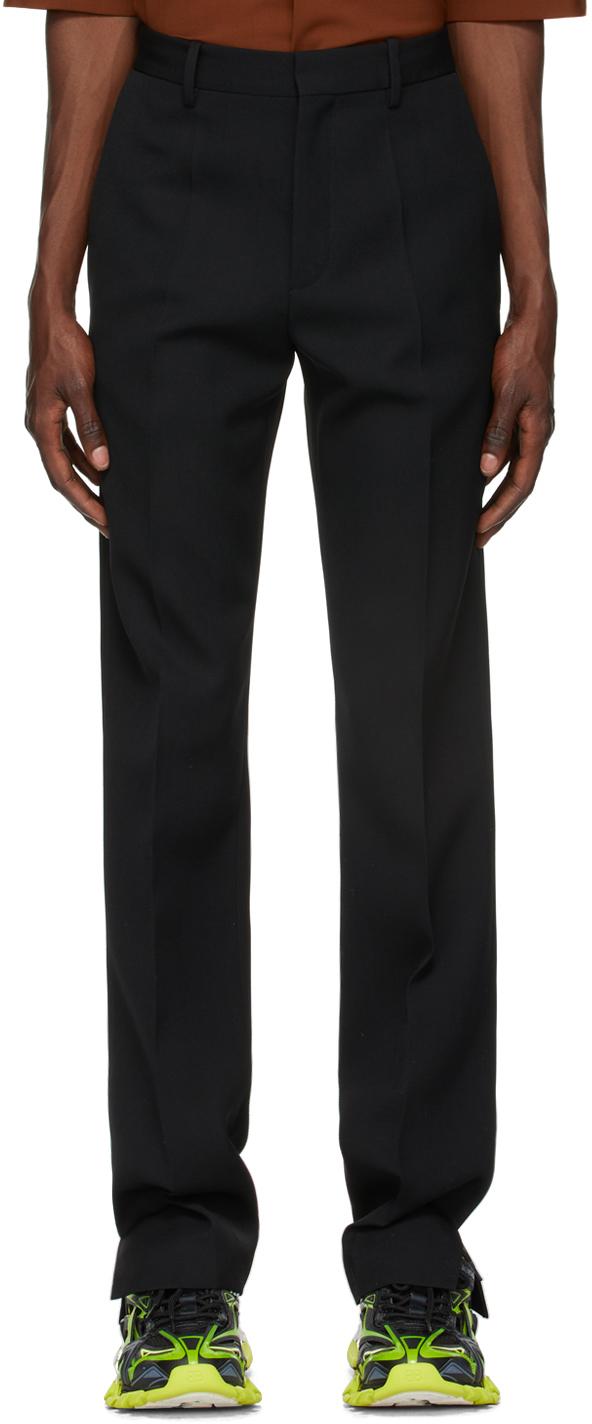 Photo: Botter Black Slit Trousers
