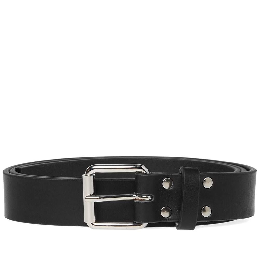 Photo: Comme des Garcons SHIRT Grain Leather Belt