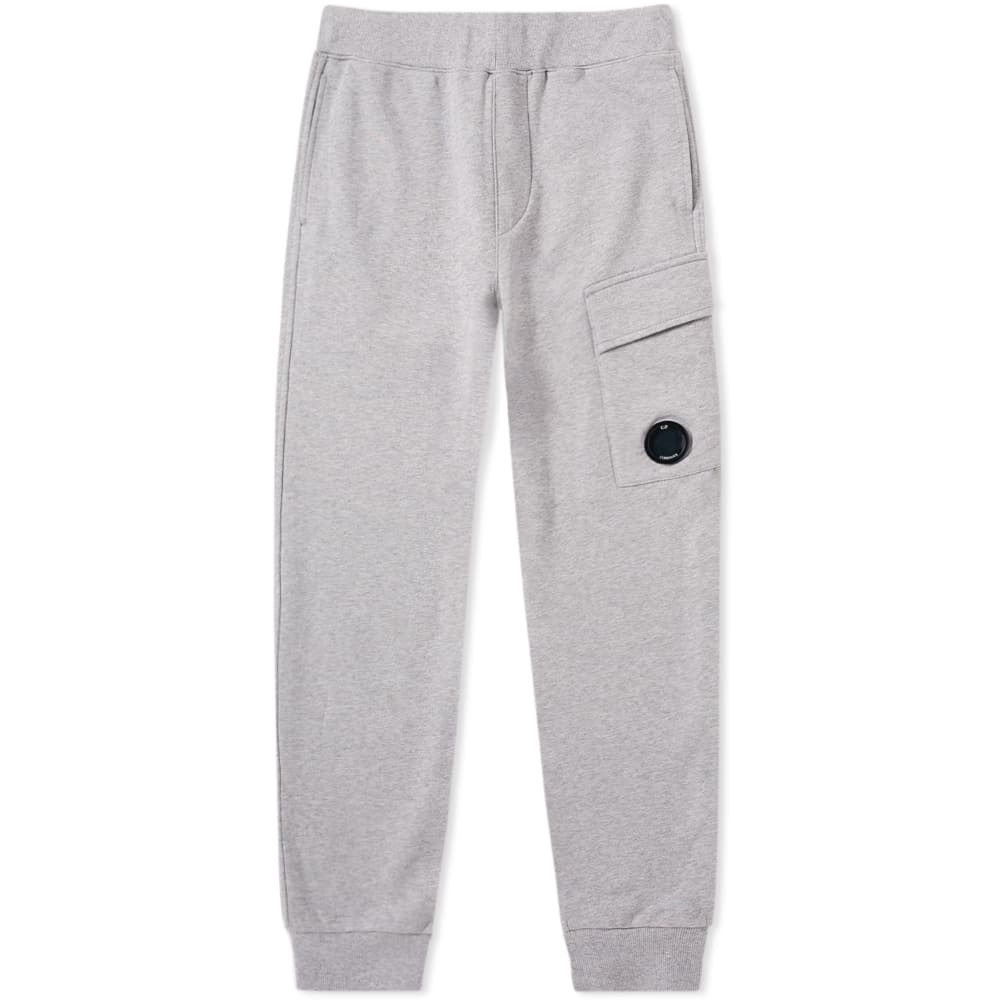 C.P. Company Lens Pocket Cargo Sweat Pant Grey