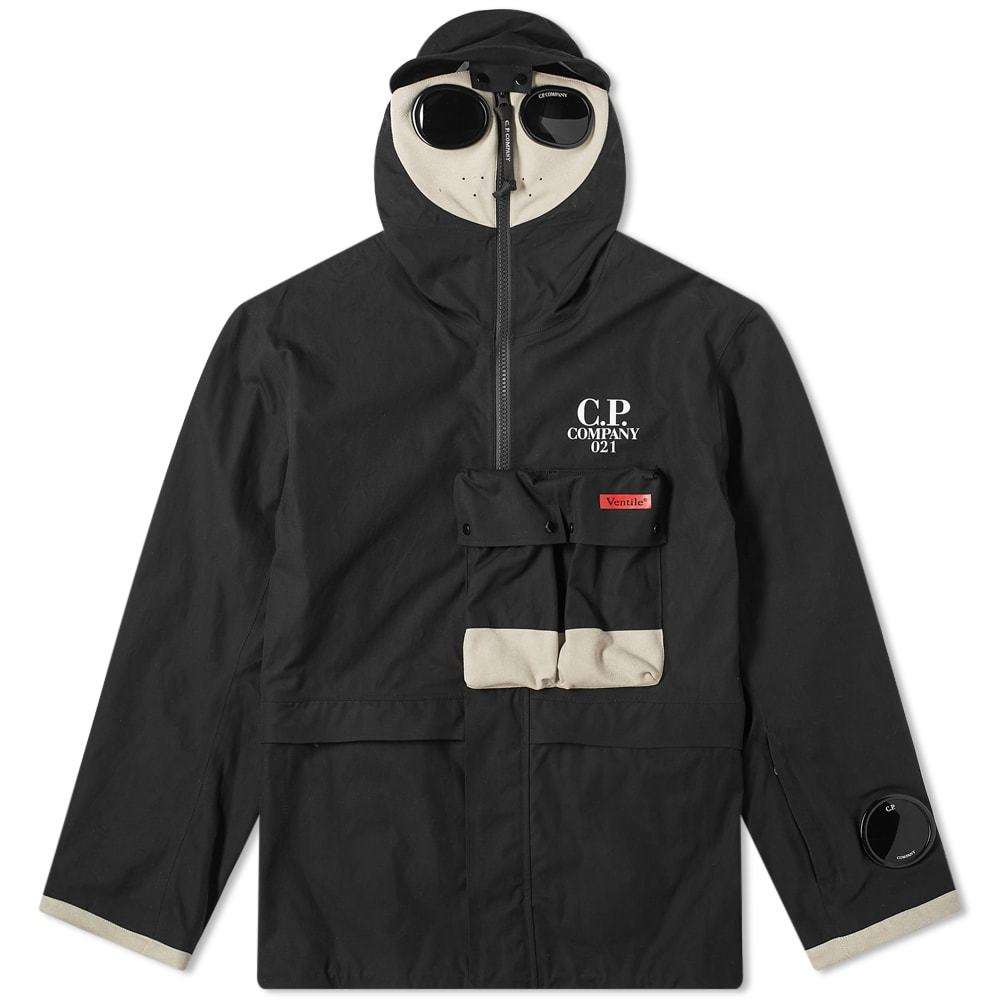 Photo: C.P. Company Ventile Popover Hooded Jacket