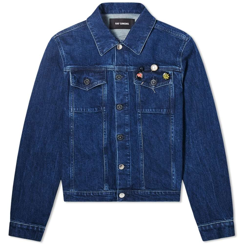 Photo: Raf Simons Slim Fit Denim Jacket