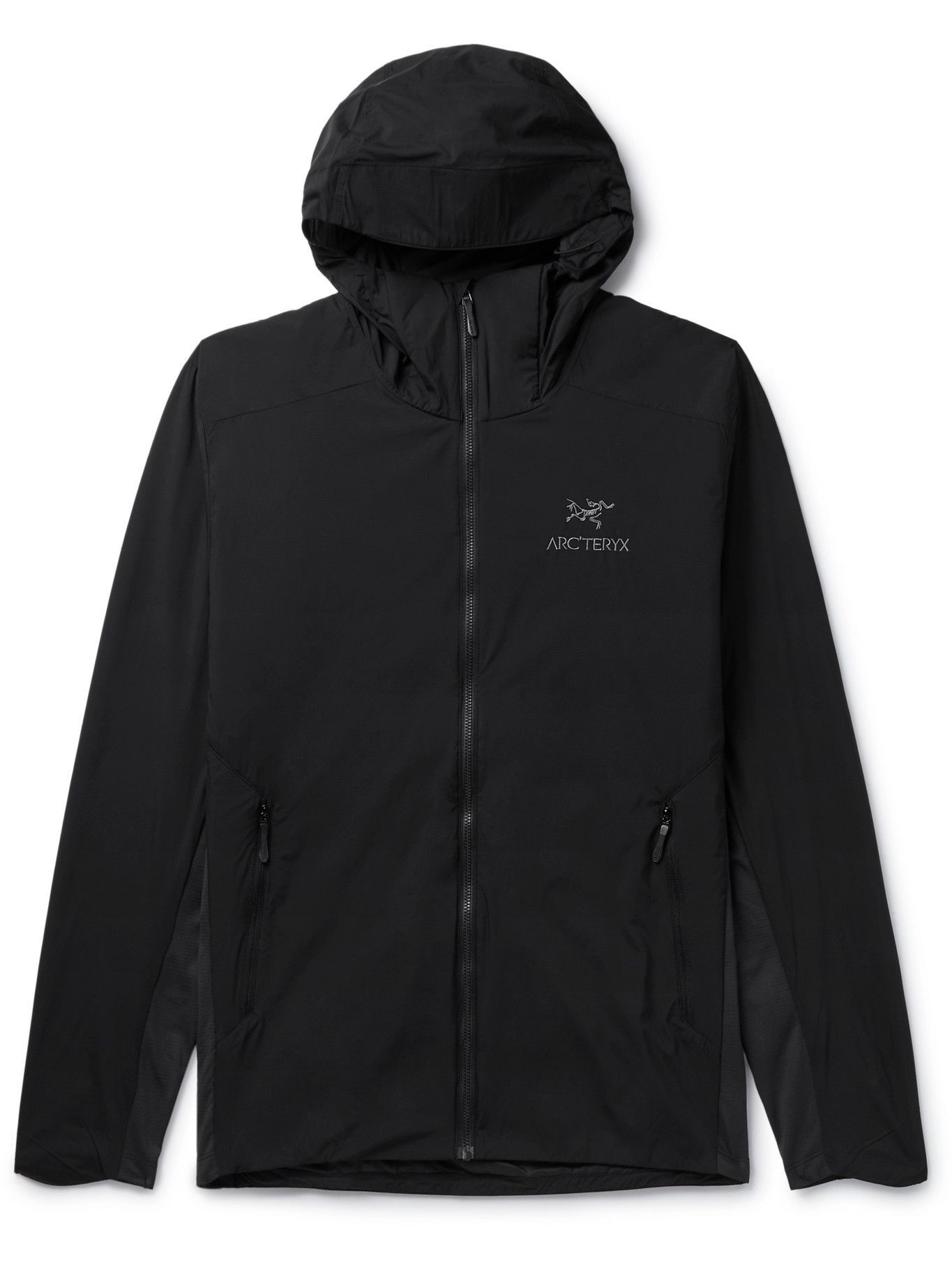 Photo: ARC'TERYX - Atom SL Nylon Hooded Jacket - Black