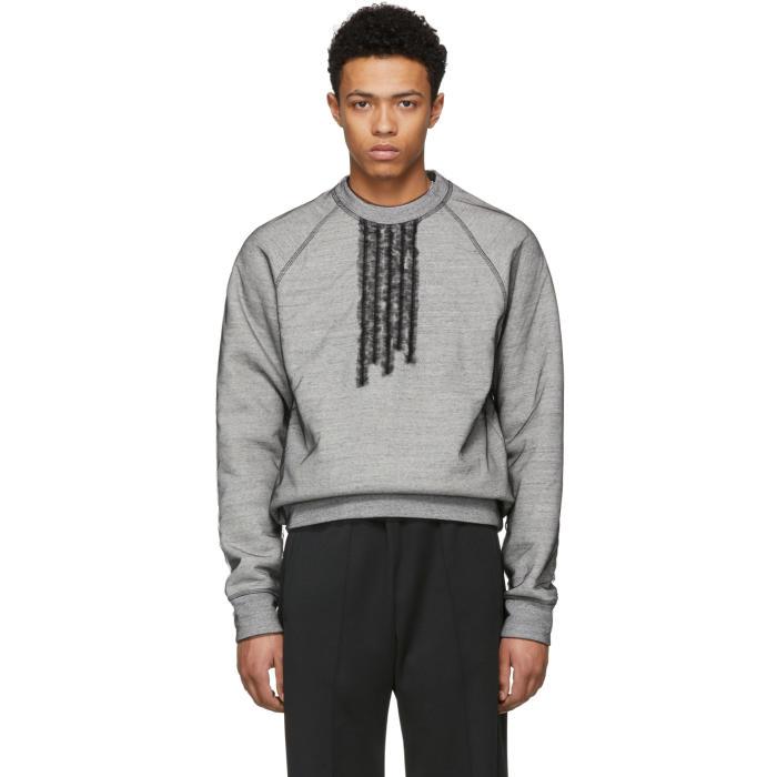 Photo: Dsquared2 Grey 50s Prom Cool Sweatshirt