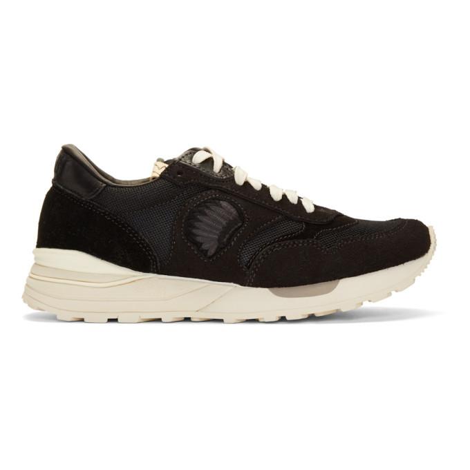 Photo: Visvim Black Roland Jogger Sneakers