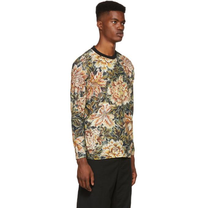 Y-3 Multicolor Long Sleeve AOP T-Shirt