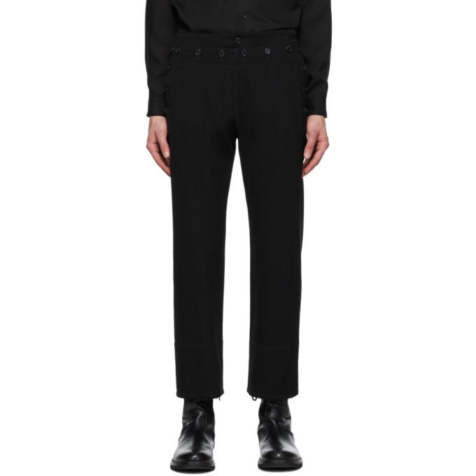 Photo: Ann Demeulemeester Black Sunseeker Trousers