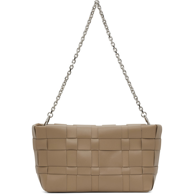 Photo: 3.1 Phillip Lim Brown Odita Lattice Pouch